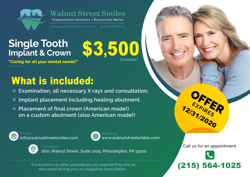 Single Tooth Implant & Crown